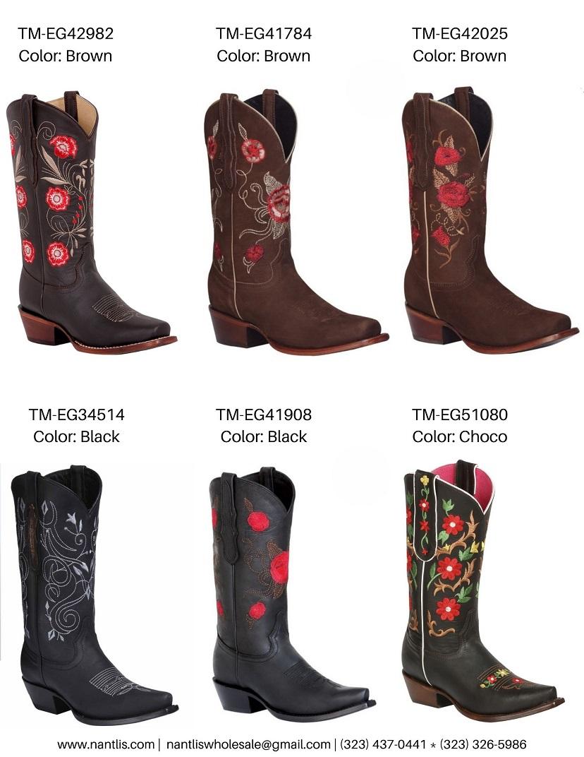 Nantlis Vol TMEG22 Botas de Vaqueras de Mujer mayoreo catalogo Wholesale Womens Western boots_Page_5